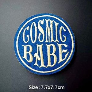 Accessories - Cosmic Babe Iron On Embroidered Patch